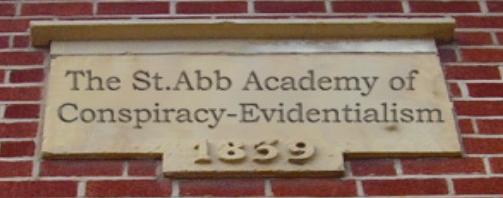 The St Abb Academy of Condpiracy-Evidentialism